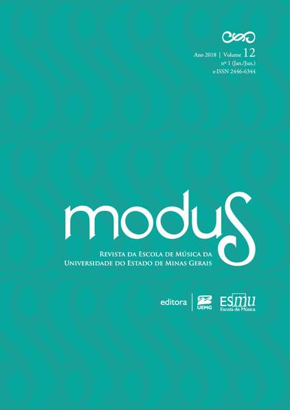 Visualizar V. 12, N. 1 (2018): MODUS